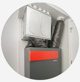 Energy efficient HRV installation services